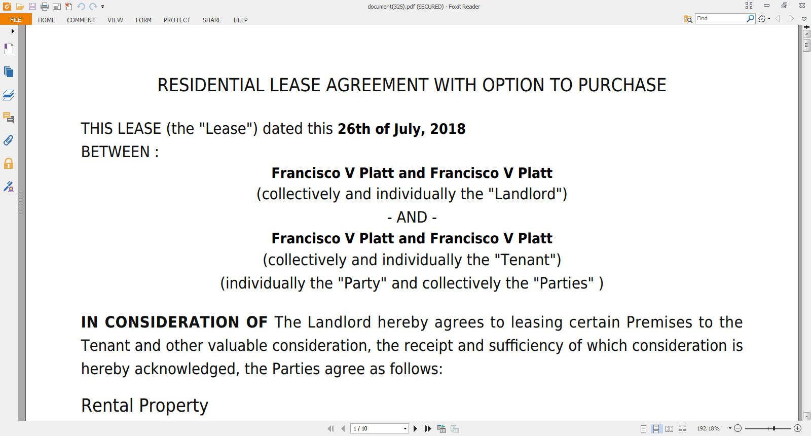 How To Make A Rent Agreement Online Rental Agreement