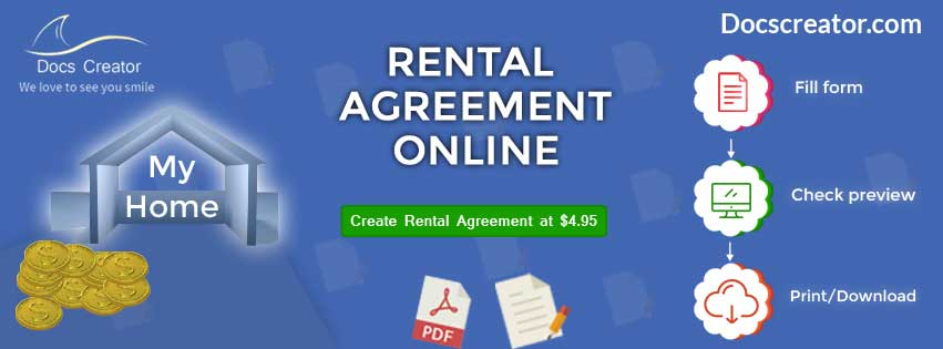 Rental Agreement Online Banner