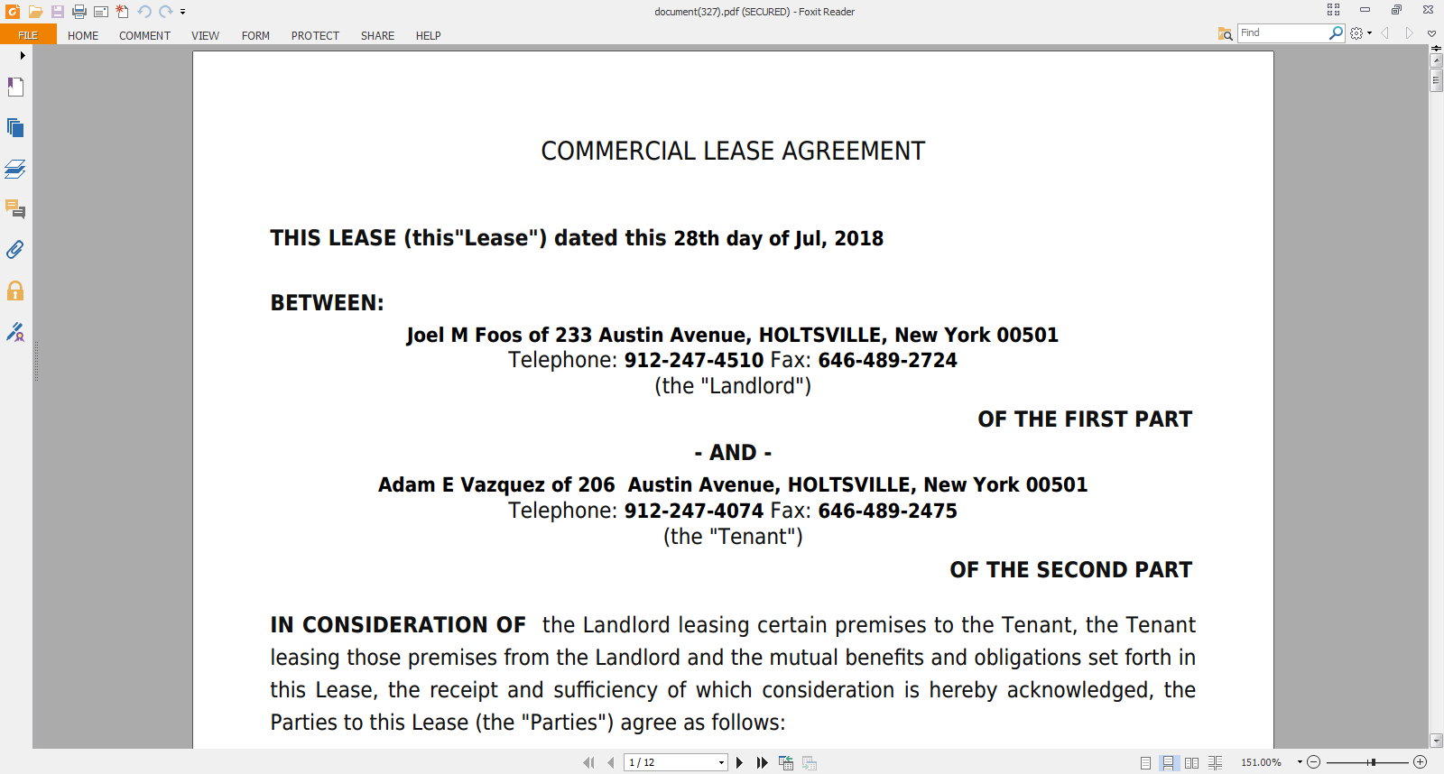 How To Make A Commercial Lease Agreement Online Legal Document