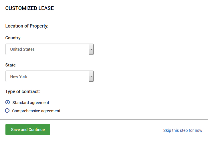 How To Make A Commercial Lease Agreement Online Legal Forms