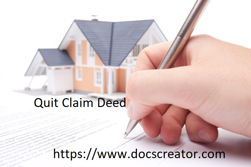online Quit Claim Deed